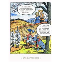 Versand - Comics - Michael Apitz - KARL-Postkarten - Die Eisweinlese