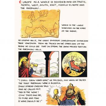 Versand - Comics - Michael Apitz - KARL-Postkarten - Karl der Große
