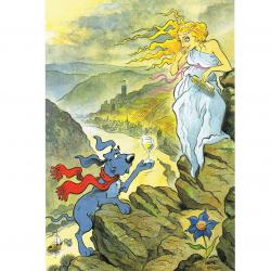 Versand - Comics - Michael Apitz - KARL-Postkarten - Loreley