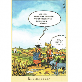 Versand - Comics - Michael Apitz - KARL-Postkarten - Rheinhessen