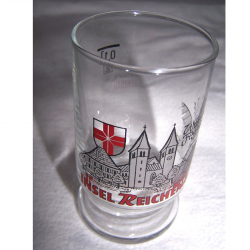 Haushalt - servieren - Souvenir - Weinfestglas - Insel Reichenau - Becherglas