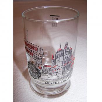 Haushalt - servieren - Souvenirs - Weinfestglas - Konstanzer Weinfest - 1982 Münster
