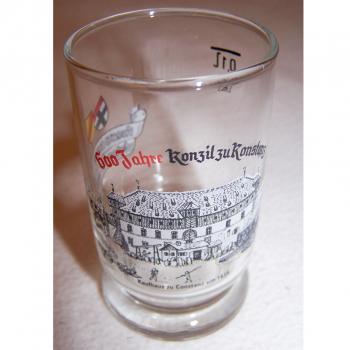 Haushalt - servieren - Souvenirs - Weinfestglas - Konstanzer Weinfest - 1988 600 Jahre Konzil