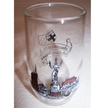 Haushalt - servieren - Souvenirs - Weinfestglas - Konstanzer Weinfest - 1993 Imperia