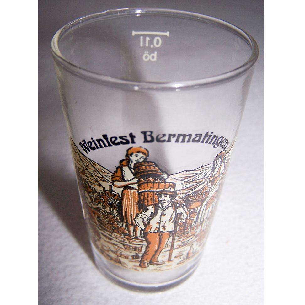 Haushalt - servieren - Souvenirs - Weinglas - Weinfest Bermatingen