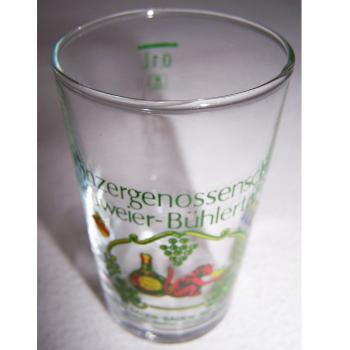 Haushalt - servieren - Souvenirs - Weinglas - Winzergenossenschaft Neuweier-Bühlertal