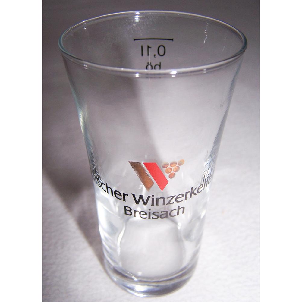Haushalt - servieren - Souvenirs - Weinglas - Badischer Winzerkeller Breisach