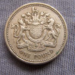 Hobby - Münzen - Großbrittanien - 1 Pound 1983 - Avers