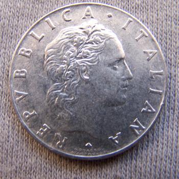 Hobby - Münzen - Italien - 50 Lire - Revers