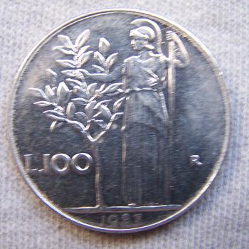 Hobby - Münzen - Italien - 100 Lire - Avers