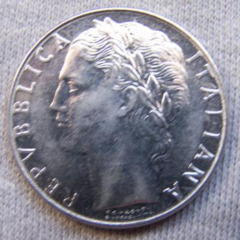 Hobby - Münzen - Italien - 100 Lire - Revers
