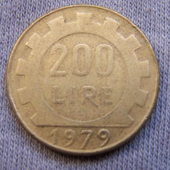 Hobby - Münzen - Italien - 200 Lire - Avers