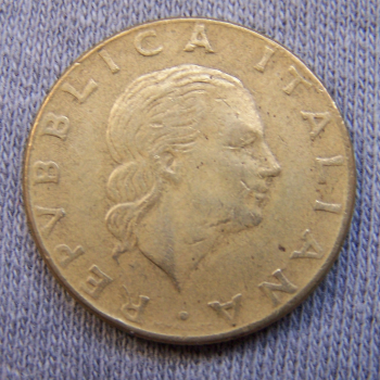 Hobby - Münzen - Italien - 200 Lire - Revers