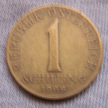 Hobby - Münzen - Österreich - 1 Schilling - Avers