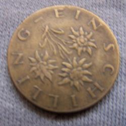 Hobby - Münzen - Österreich - 1 Schilling - Revers