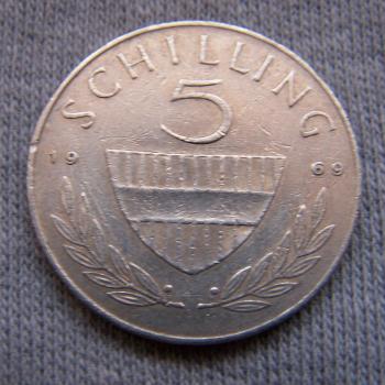 Hobby - Münzen - Österreich - 5 Schilling - Avers