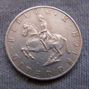 Hobby - Münzen - Österreich - 5 Schilling - Revers