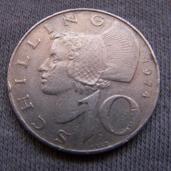 Hobby - Münzen - Österreich - 10 Schilling - Avers
