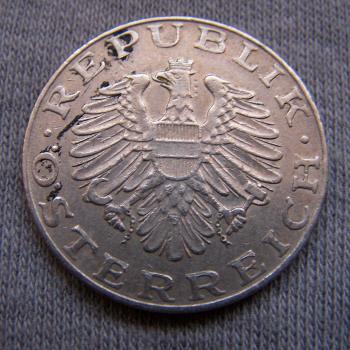Hobby - Münzen - Österreich - 10 Schilling - Revers