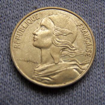 Hobby - Münzen - Frankreich - 5 Centimes - 1987 - Revers
