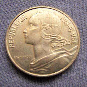 Hobby - Münzen - Frankreich - 10 Centimes - 1998 - Revers