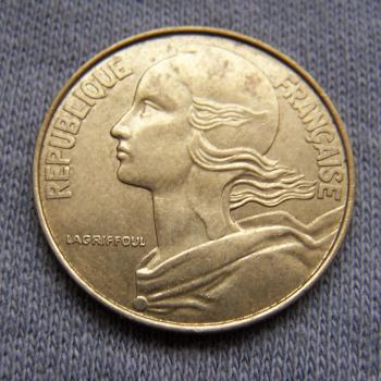 Hobby - Münzen - Frankreich - 20 Centimes - 1994 - Revers