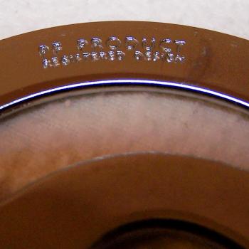 Werbung - Motorola Online - E-Mail Brieföffner aus Metall - registriertes Design