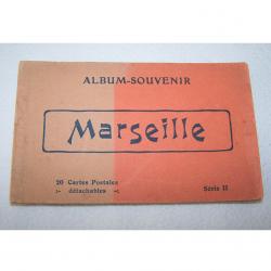 Souvenirs - Marseille - historisches Postkartenalbum mit 20 Motiven