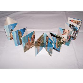 Souvenirs - Minifoto-Leporello Gardasee - aufgeklappt