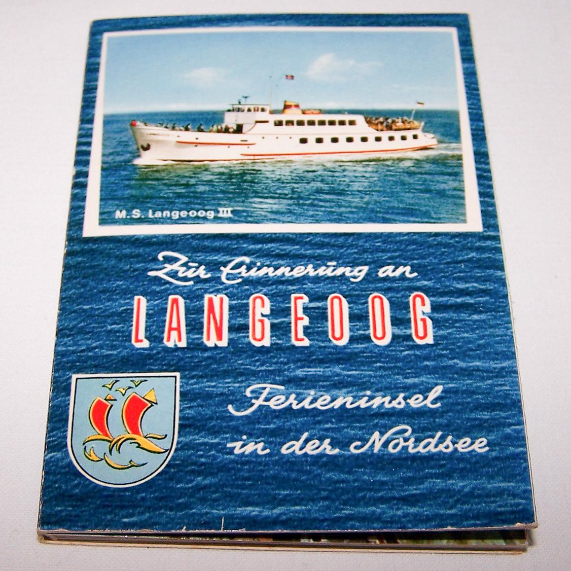 Souvenirs - Minifoto-Leporello von Langeoog