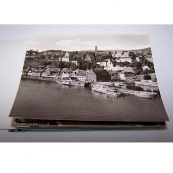 Historisches Minifoto-Heftchen von Meersburg am Bodensee - Innenansicht