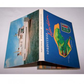 Souvenirs - Minifoto-Leporello von Borkum - Umschlagseiten