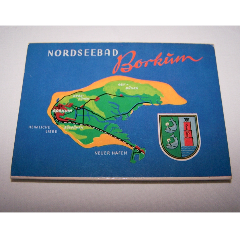 Souvenirs - Minifoto-Leporello von Borkum