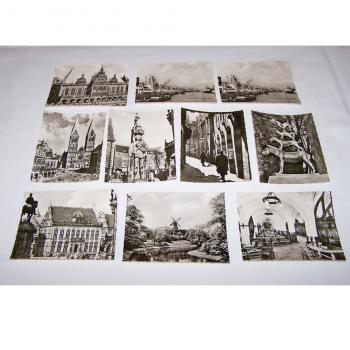 Souvenirs - Minifoto-Set von Bremen - Motive