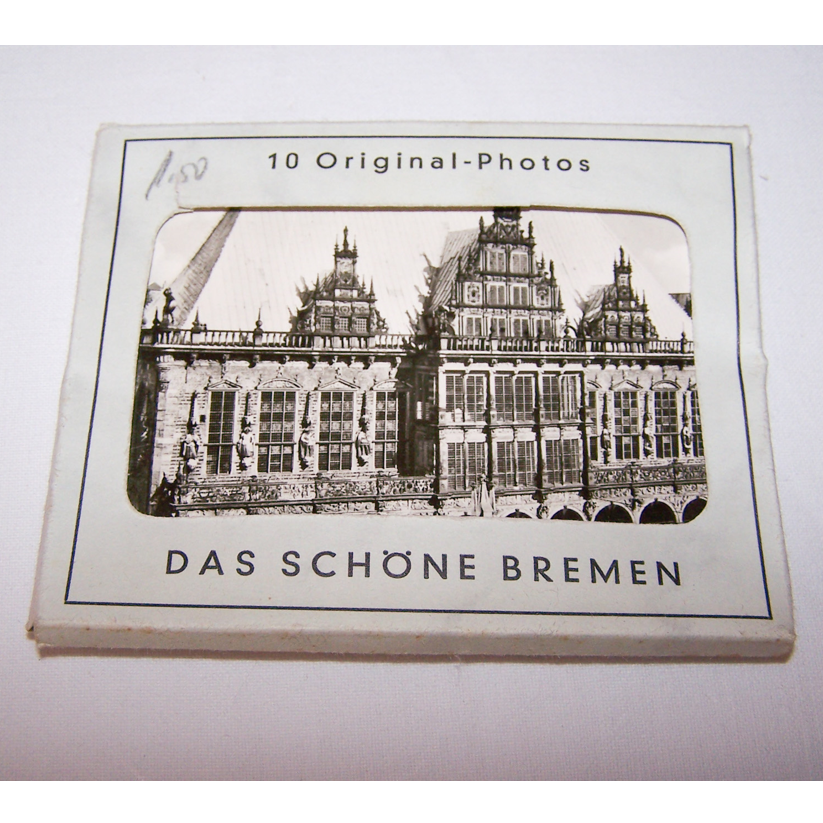 Souvenirs - Minifoto-Set von Bremen