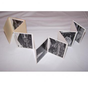 Souvenirs - Minifoto-Leporello von Wolfach - aufgeklappt