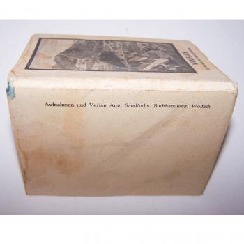 Souvenirs - Minifoto-Leporello von Wolfach - Rückseite