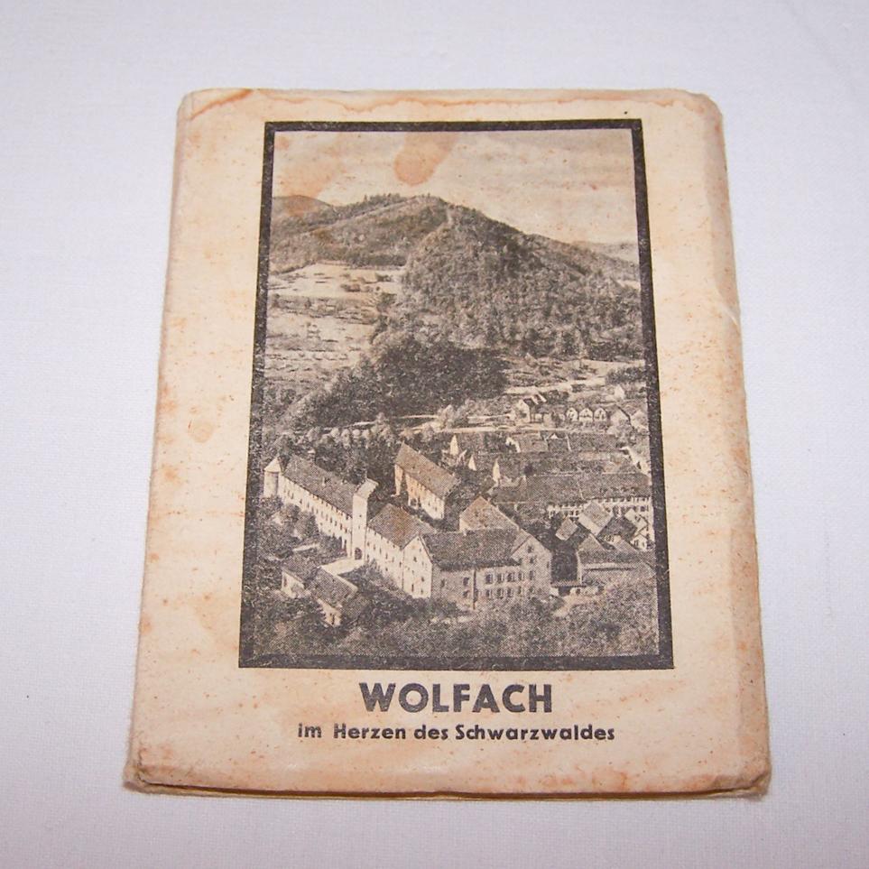 Souvenirs - Minifoto-Leporello von Wolfach