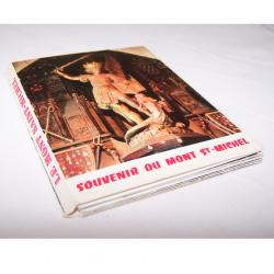 Souvenirs - Minifoto-Leporello Mont Saint-Michel