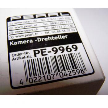 Audio, Video & Foto - Kamera-Drehteller für 360°-Panorama-Aufnahmen - Artikelnummer
