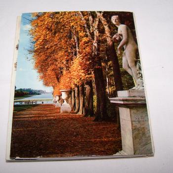Souvenirs - Minifoto-Leporello von Versailles - Rückseite