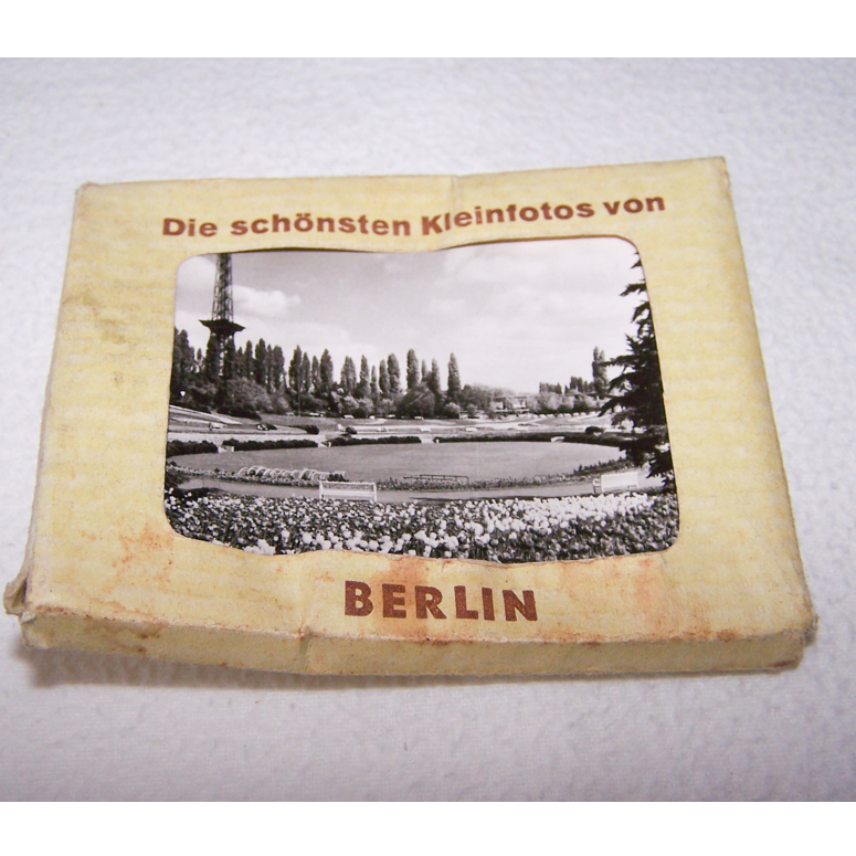 Souvenirs - Minifoto-Set Berlin