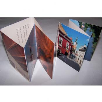 Souvenirs - Minifoto-Leporello Tabor - aufgeklappt