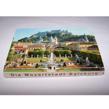 Souvenirs - Minifoto-Leporello Salzburg - Rückseite