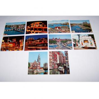 Souvenirs - Minifoto-Set Amsterdam - Motive