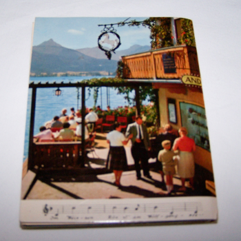 Souvenirs - Minifoto-Leporello St. Wolfgang am See - Rückseite
