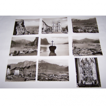 Souvenirs - Minifoto-Set Mondsee - Motive