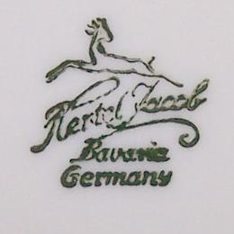 Haushalt - servieren - Sammeltassen - Hertel Jacob - Manufakturstempel