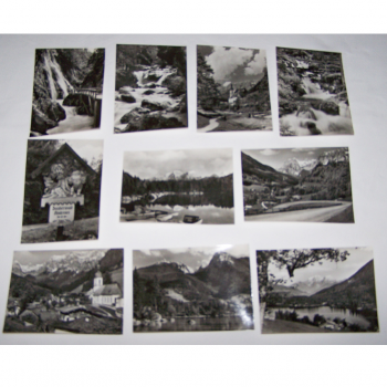 Souvenirs - Minifoto-Set Hintersee-Zauberwald-Ramsau- Motive