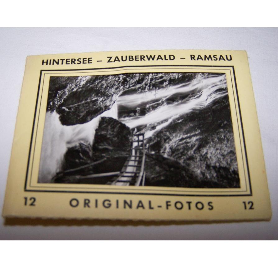 Souvenirs - Minifoto-Set Hintersee-Zauberwald-Ramsau